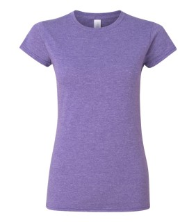 Gildan G640L heather purple