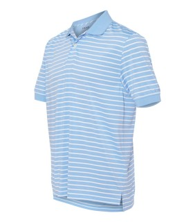 IZOD 13Z0112 Horizontal Feeder Stripe Performance Sport Shirt