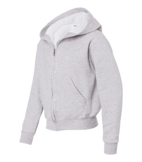 JERZEES 993BR NuBlend® Youth Full-Zip Hooded Sweatshirt