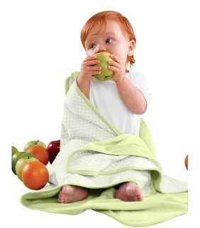 Apples & Oranges KA100 Infant Jordan Reversible Blanket