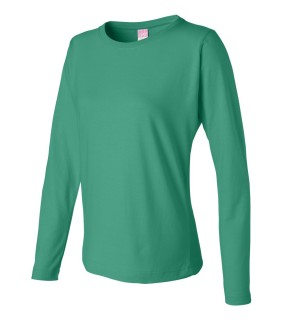 LAT 3588 Ladies' Long Sleeve Crewneck T-Shirt