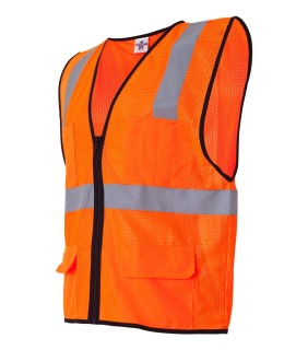 ML Kishigo 1191 Economy Six Pocket Mesh Vest