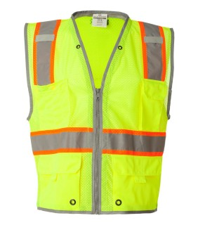 ML Kishigo 1510 Brilliant Series Heavy Duty Class 2 Vest