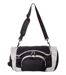 Valubag VB0038 Black Grey Duffel Bag