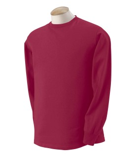 Fruit Of The Loom 4930 Heavy Cotton Long Sleeve T-Shirt