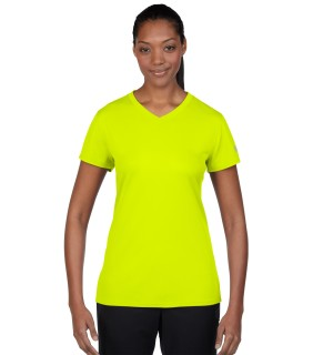 N7118L New Balance Ladies' Ndurance Athletic V-Neck T-Shirt