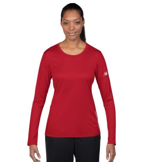 N9119L New Balance Ladies' Tempo Long Sleeve T-Shirt
