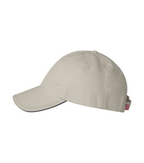 Bayside 3617 USA Made Unstructured Twill Cap