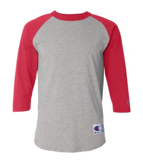 Champion T137 Grey/Scarlet