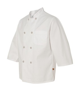 Chef Designs 0402 Three-Quarter Sleeve Chef Coat