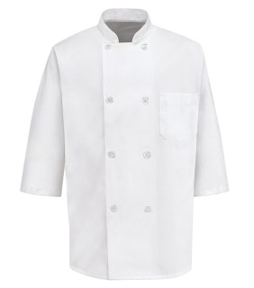 Chef Designs 0404 Half Sleeve Chef Coat