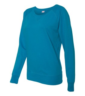 LAT 3762 Ladies' French Terry Slouchy Pullover