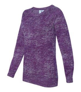 MV Sport W1255 Ladies' Ronnie burnout Crewneck Sweatshirt
